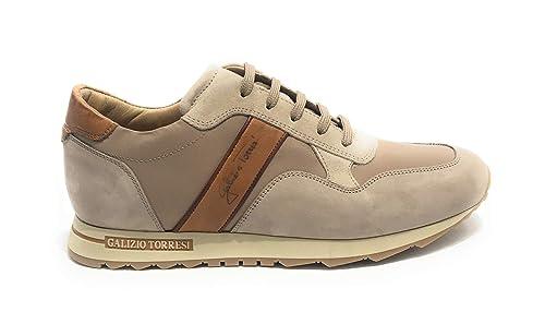 best website 58c94 2591a GALIZIO TORRESI Scarpe Uomo Sneaker Running Pelle Nabuk ...