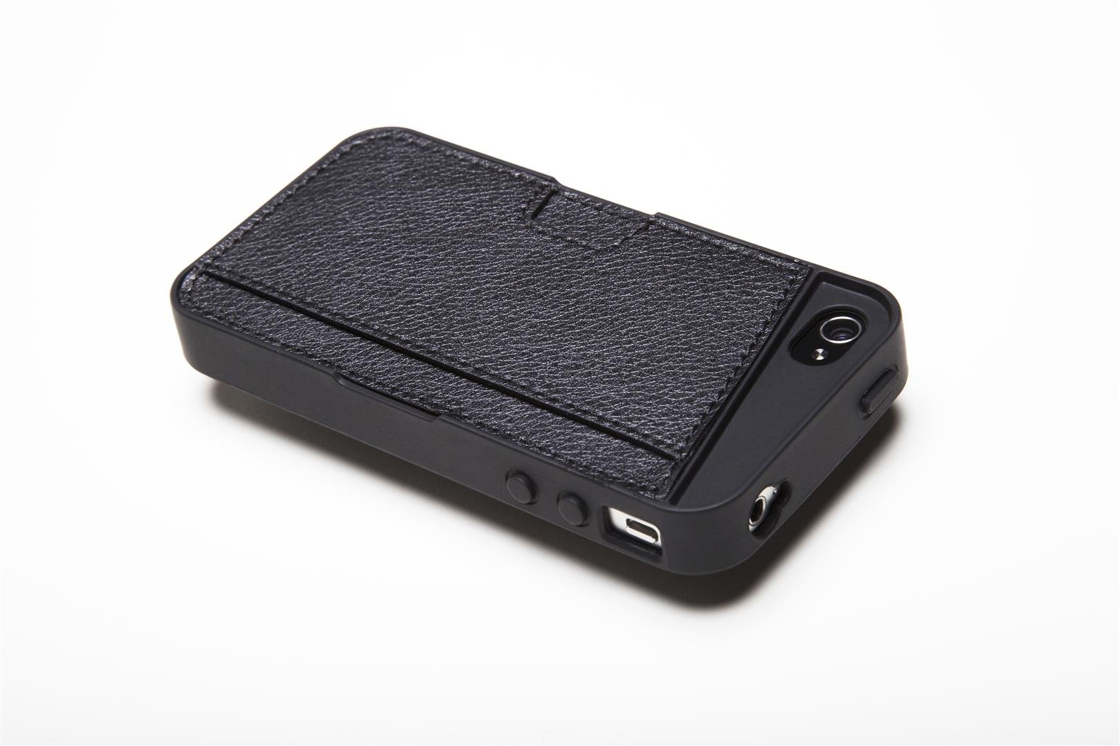 Silk iPhone 4/4S Wallet Case - Q CARD CASE [Slim Protective CM4 Cover] - Black Onyx by Silk (Image #9)