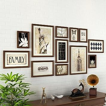 Set Cornici Da Parete.Cornici Multi Immagine Set Di Cornici Da Muro Con 12