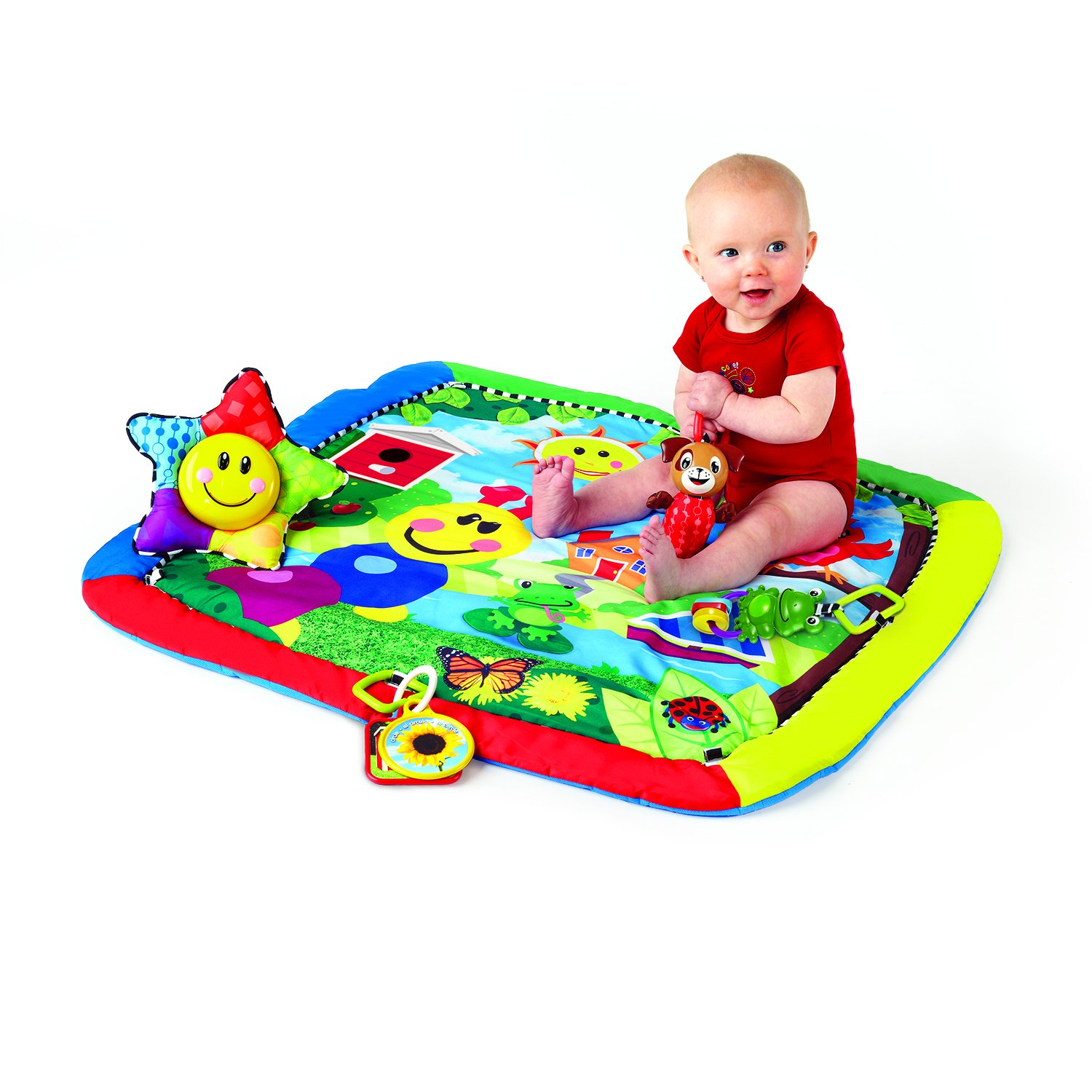 Amazon Baby Einstein Caterpillar and Friends Play Gym