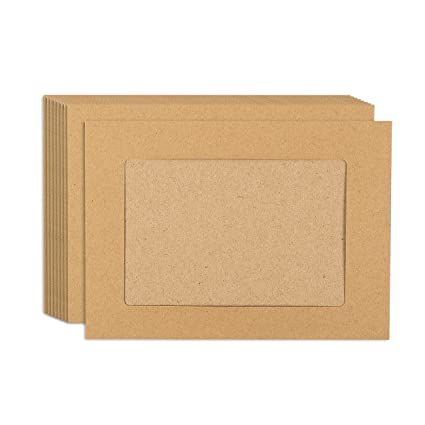 Amazon Juvale Paper Picture Frames 50 Pack Diy Kraft Paper