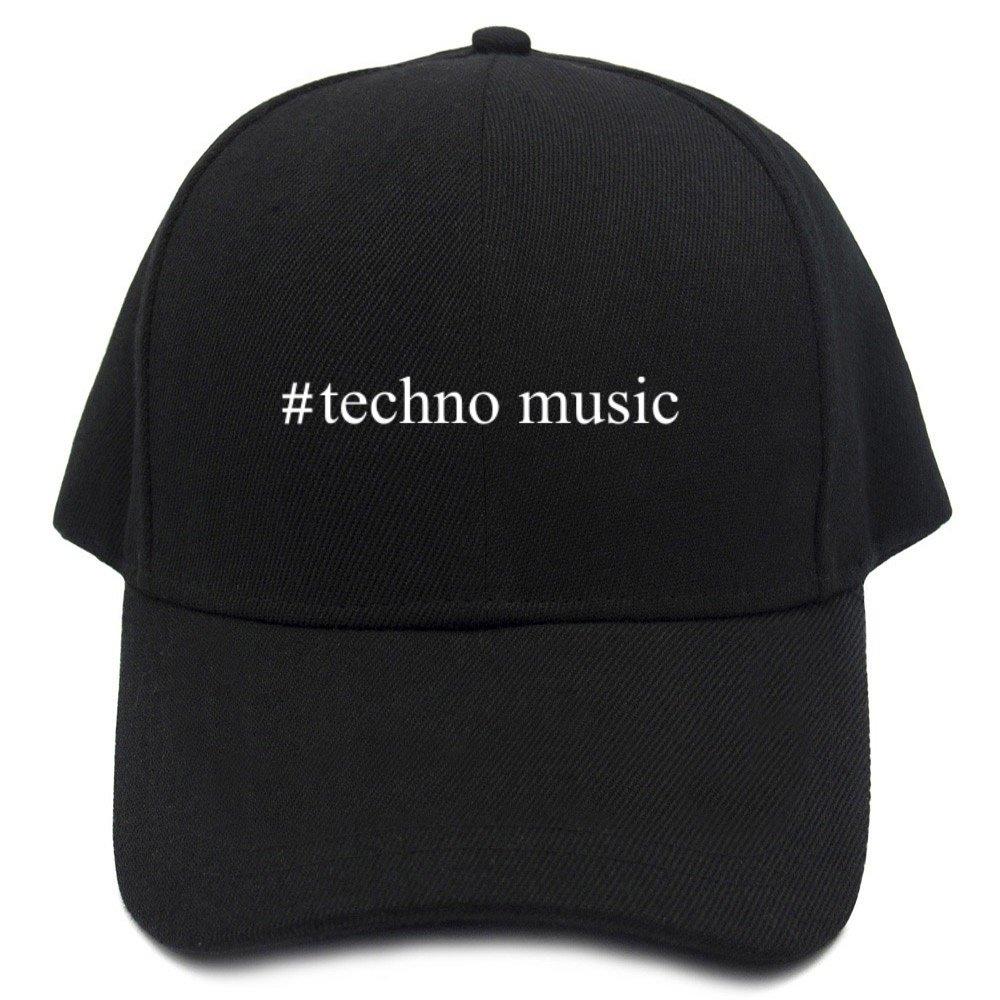 Teeburon Techno Music Hashtag Gorra De Béisbol: Amazon.es: Ropa y ...