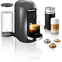 Krups Nespresso XN902T Vertuo Plus inclusief Deluxe Bundle Aeroccino melkopschuimer (automatische capsuleherkenning, 1,1…