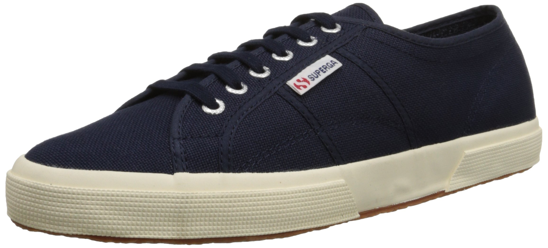 Superga Unisex 2750 Cotu  Navy Classic Sneaker - 36 M EU / 6 B(M) US Women / 4.5 D(M) US Men