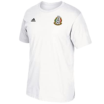 80ed84f18 adidas Hirving Lozano Mexico National Team Men s Player Name   Number T- Shirt (White