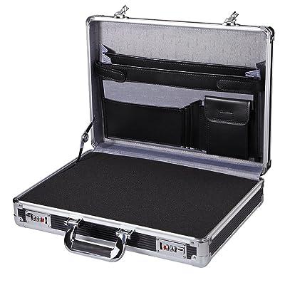 00b52c5c3c Professional Aluminum Hard Case ToolBox Large Briefcase Flight Carrying  Case450LP-S-FOAM