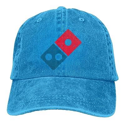 c8ba57d1055 Dominos Pizza Logo Unisex Adjustable Baseball Caps Denim Hats Cowboy Sport  Outdoor