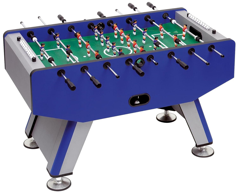 Betzold Tisch-Fussball Pro, 84 x 140 x 76 cm, kugelgelagerte Stangenführung, Profi-Spielfiguren, stabile Ausführung - Fußball Tischkicker Kicker-Tisch Fußballtisch Kinder spielen Kickern