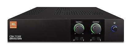JBL CSA2120Z Commercial Series Two-Channel 120W Power Amplifier