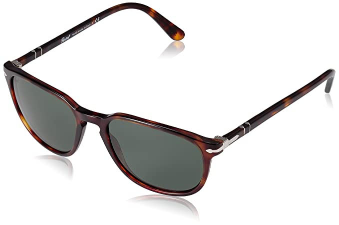 4c7432e8bb Persol Women s PO3019S-24 31-55 Brown Square Sunglasses  Persol ...