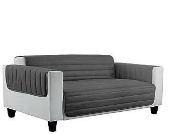 Elegant copri divano trapuntato in microfibra anallergica ...