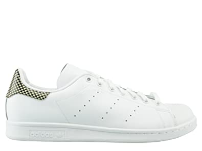 adidas Mens Stan Smith White Leather Trainers 41 1/3 EU