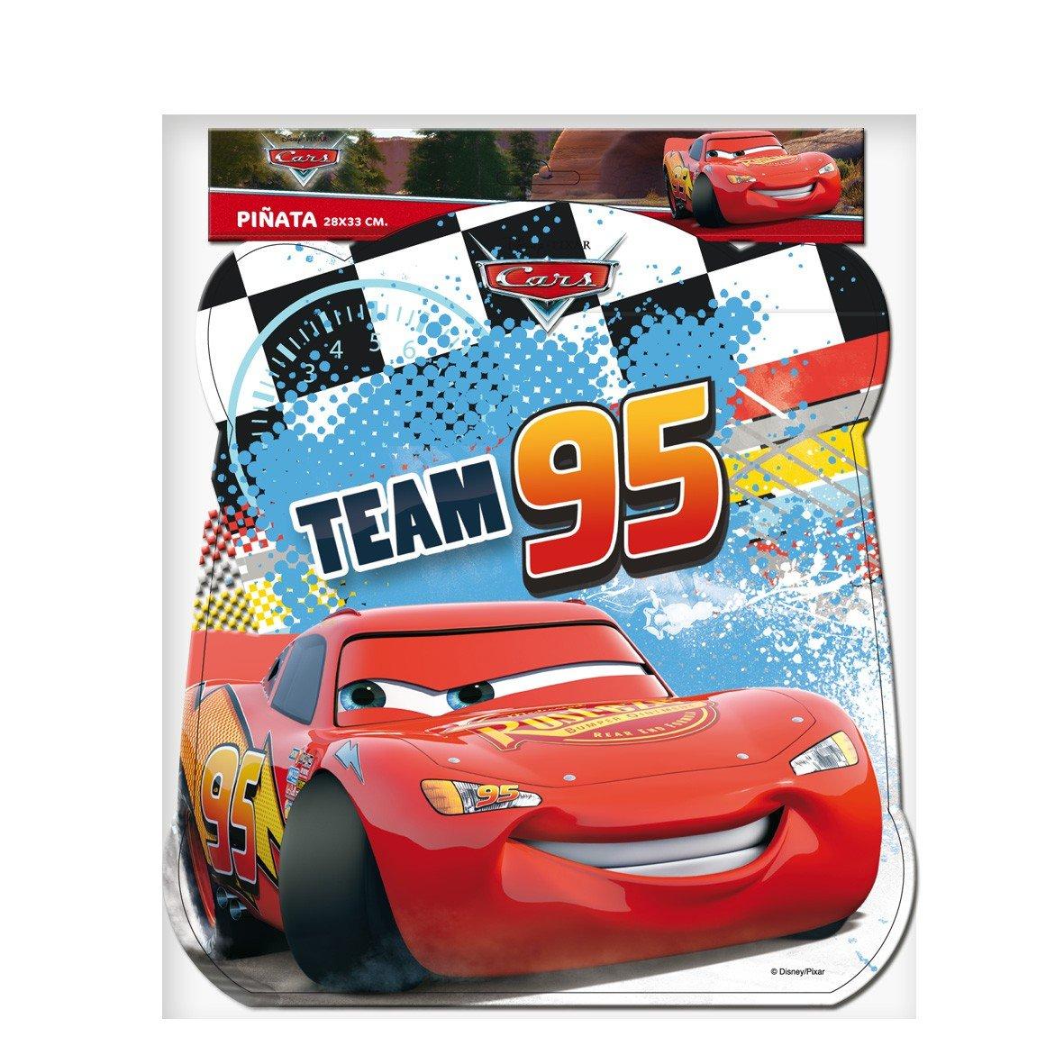 Verbetena, 014000994, piñata basic disney cars, dimensiones: 28x33 centimetros.