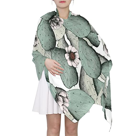 Bufanda de seda para mujer, bufanda de cuello ligero, bufanda con ...