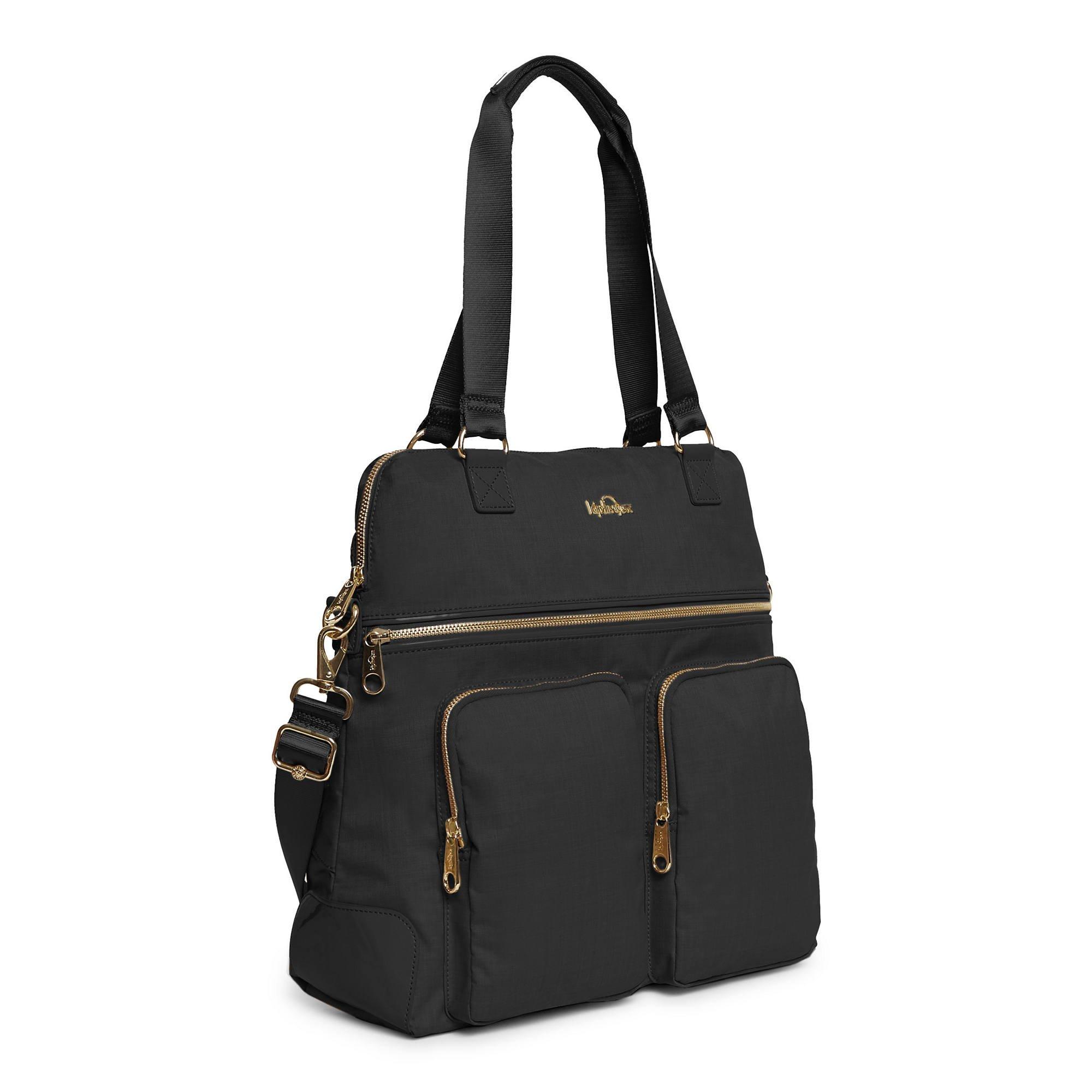 Kipling Camryn Laptop Handbag Black Crosshatch by Kipling (Image #2)