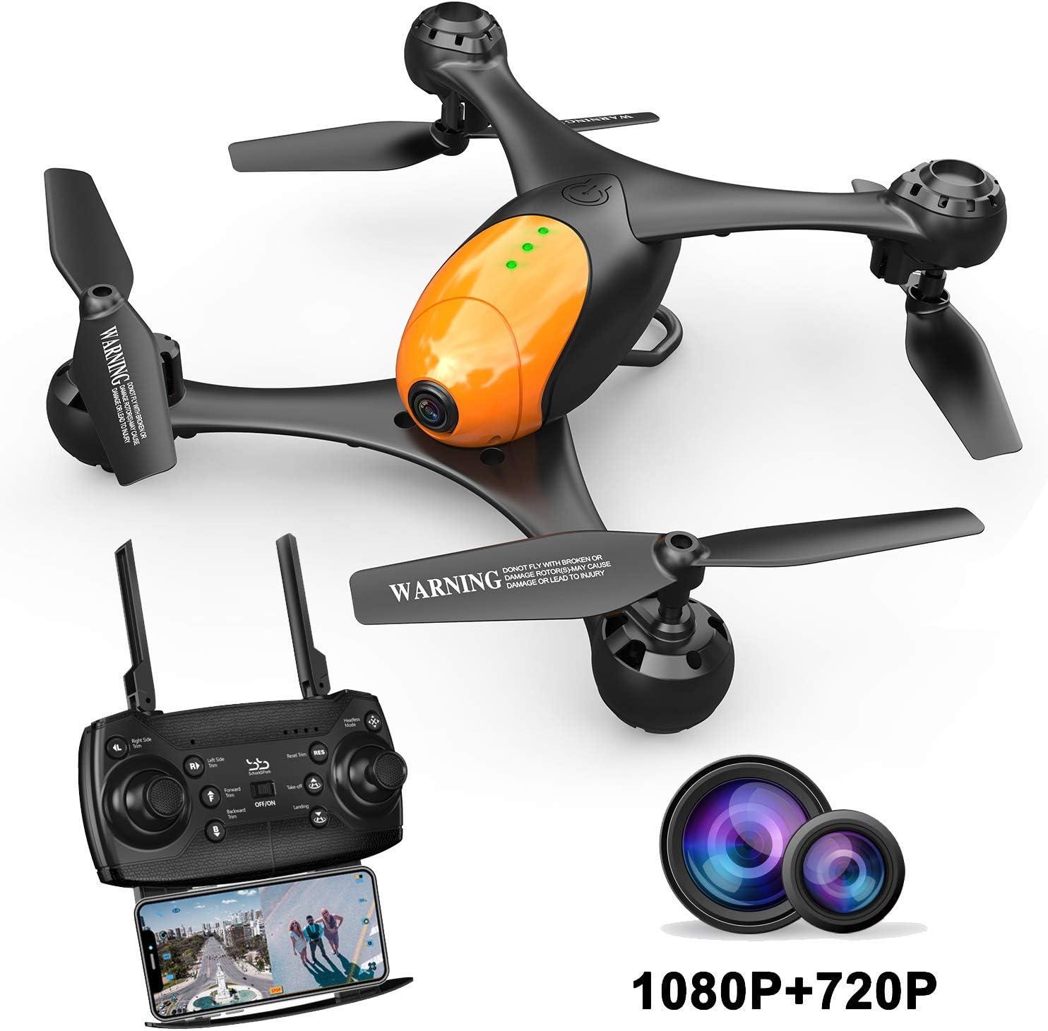 SCHARKSPARK DRONE SS41 REVIEW