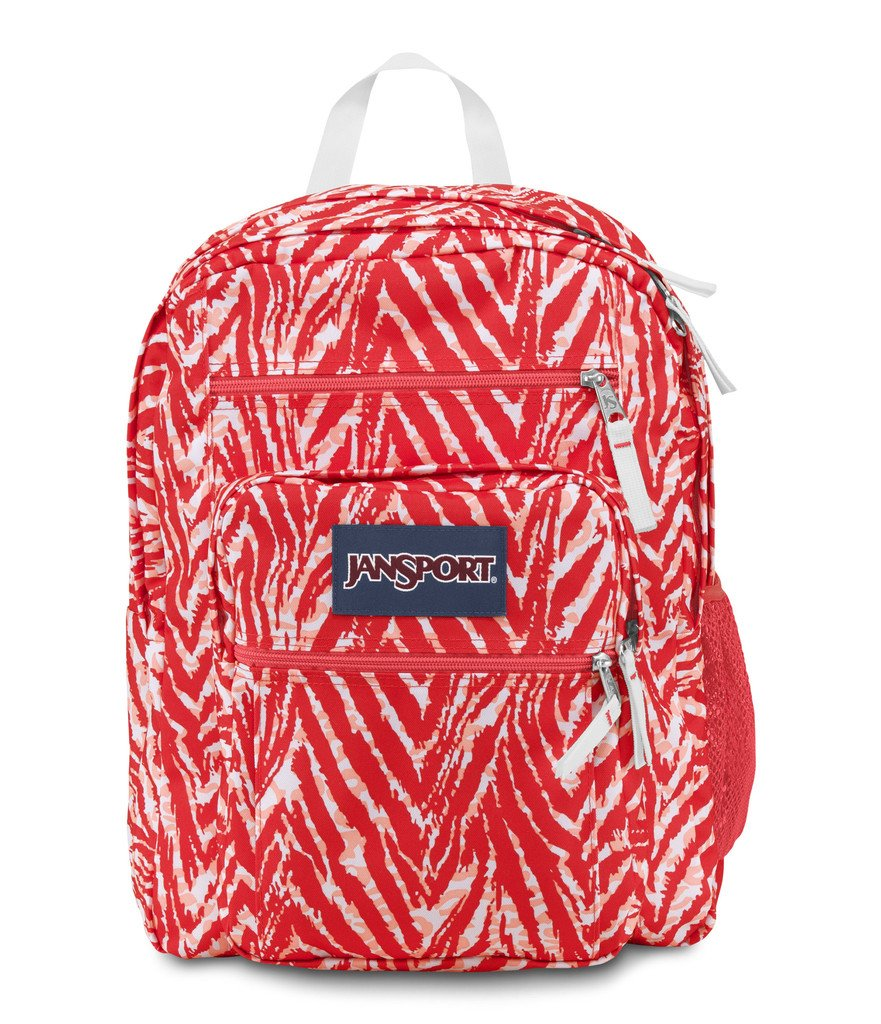 JanSport Unisex Big Student Coral Peaches Wild Heart One Size