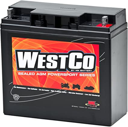 This is an AJC Brand Replacement WestCo 12V12B-4 Powersports Replacement Battery