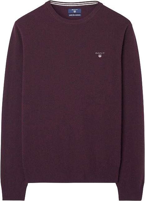 GANT Herren Superfine Lambswool Crew Sweater Pullover
