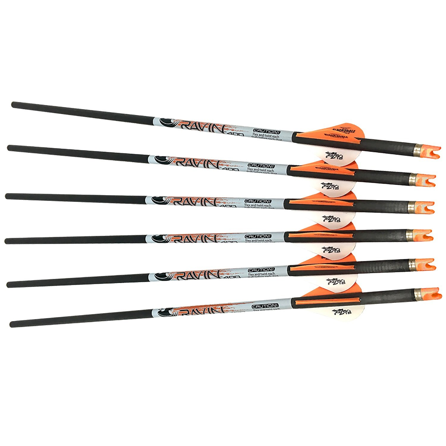 Ravin Crossbows Arrows 400 Grain .001 Premium Lighted-3 Pack R134