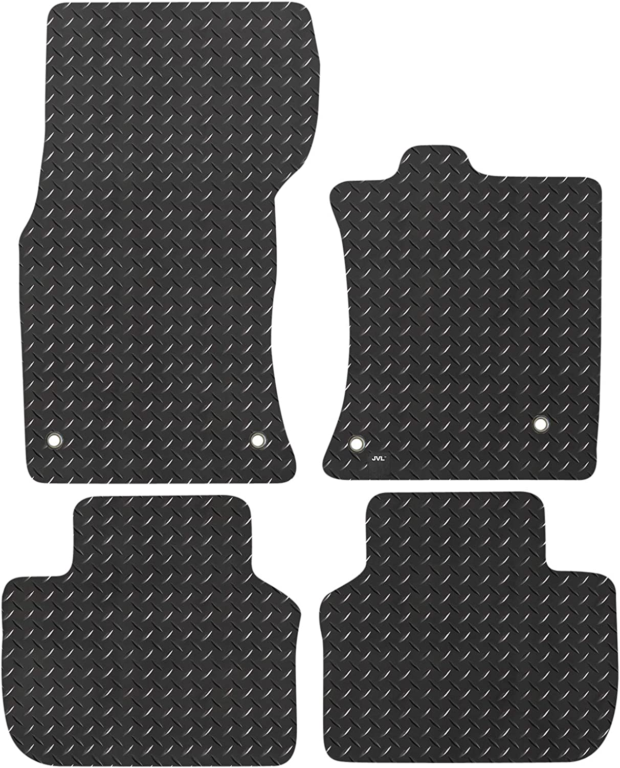 2016-On JVL JVL3707R Fully Tailored Rubber Car Mat Set for XF X260