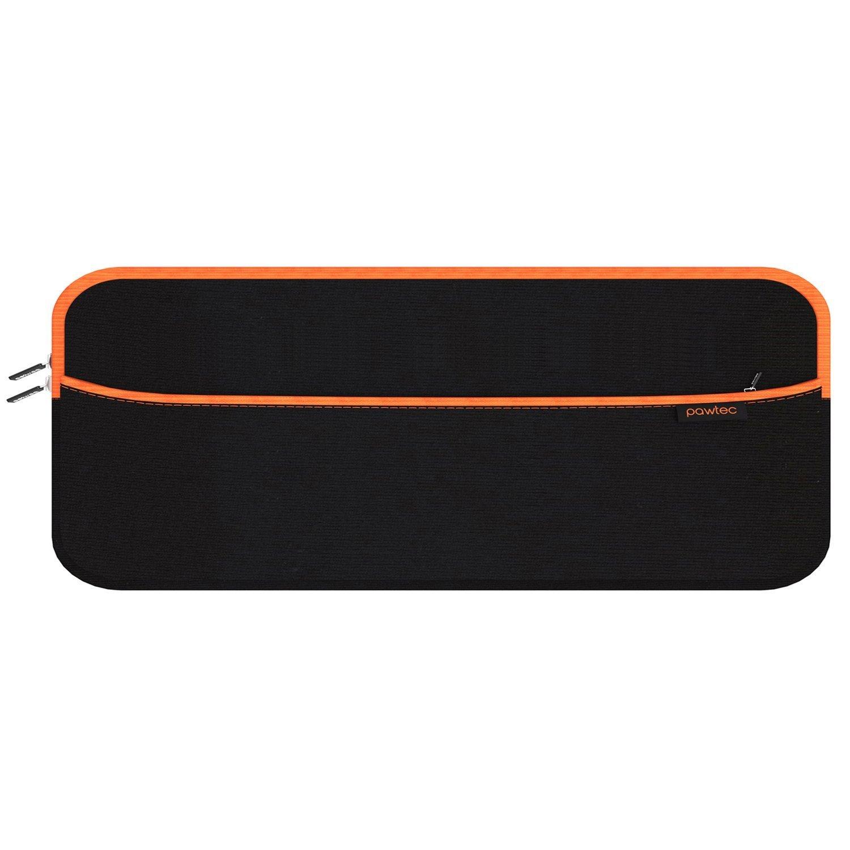 Etui de Pawtec pour Magic Keyboard avec pavé numérique - Avec poche pour ranger les accessoires Magic Mouse 2 et Magic Trackpad 2 PAW-SLEEVE-BTKBNM-BLK