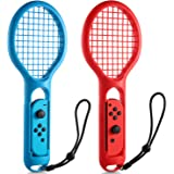 Nintendo Switch Racchetta Da Tennis IDESION 2 x Pezzi Racchetta Da Tennis Per Nintendo Switch Joy-Con Racchetta Da Tennis Per Nintendo Switch Mario Tennis Aces Gioco