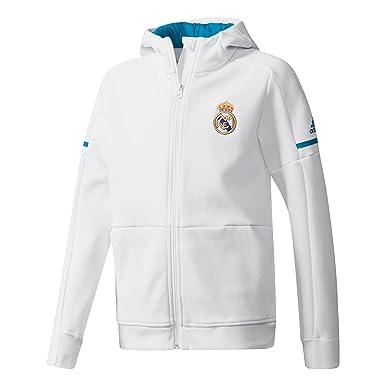 adidas Anth Sqd Y Chaqueta Línea Real Madrid, Niños: Amazon ...
