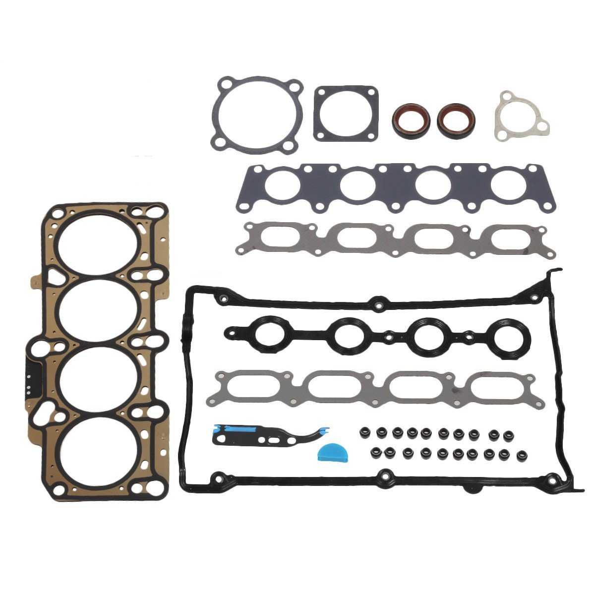 Vincos Cylinder Head Gasket Set Compatible with AUDI and Replacement For VOLKSWAGEN 1.8L Turbo 99-06