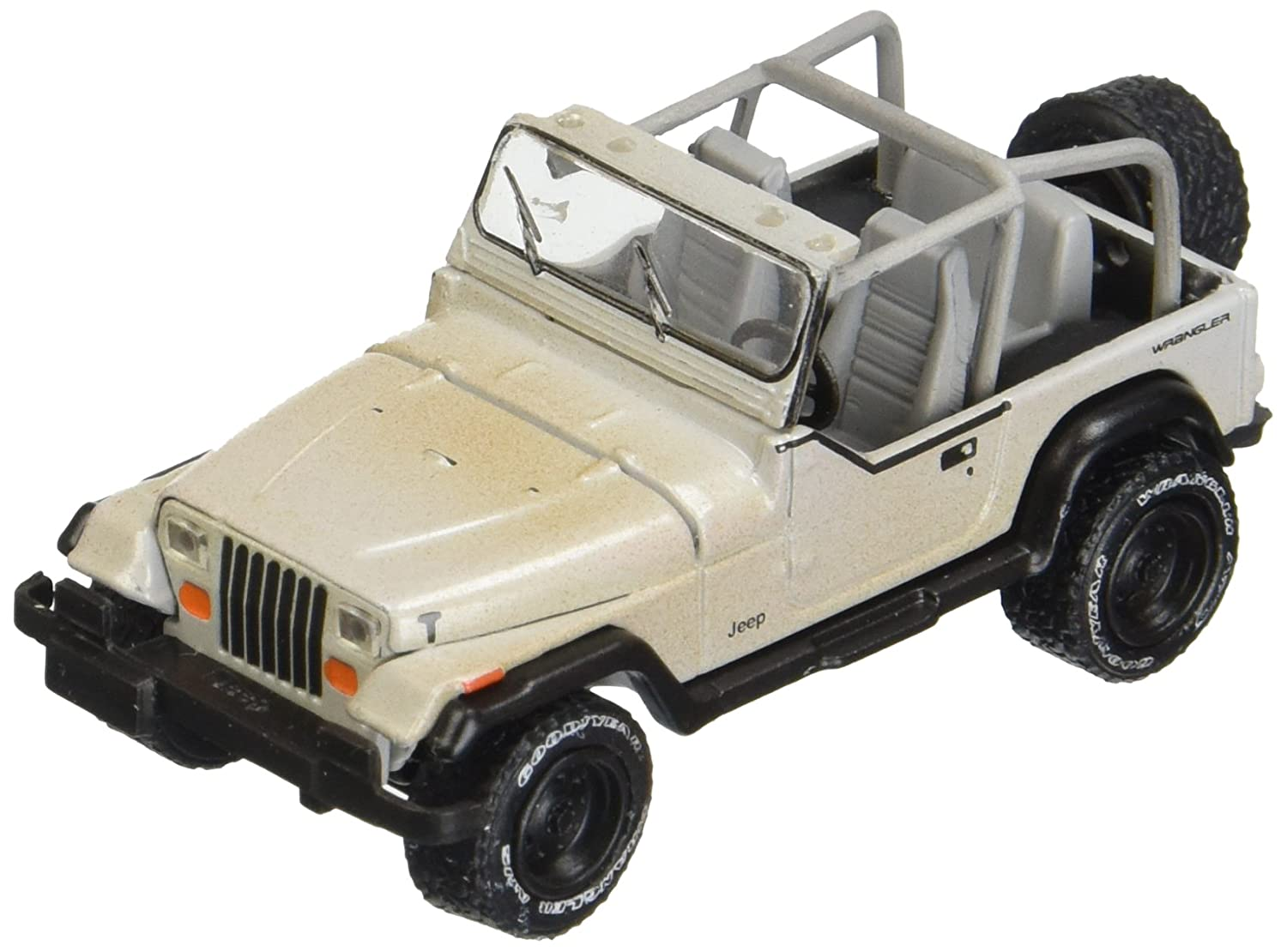 Greenlight 1 64 Hitch Tow Series 8 The Walking Dead Michonne's Jeep Wrangler YJ Utility Trailer with Zombies Diecast Vehicle