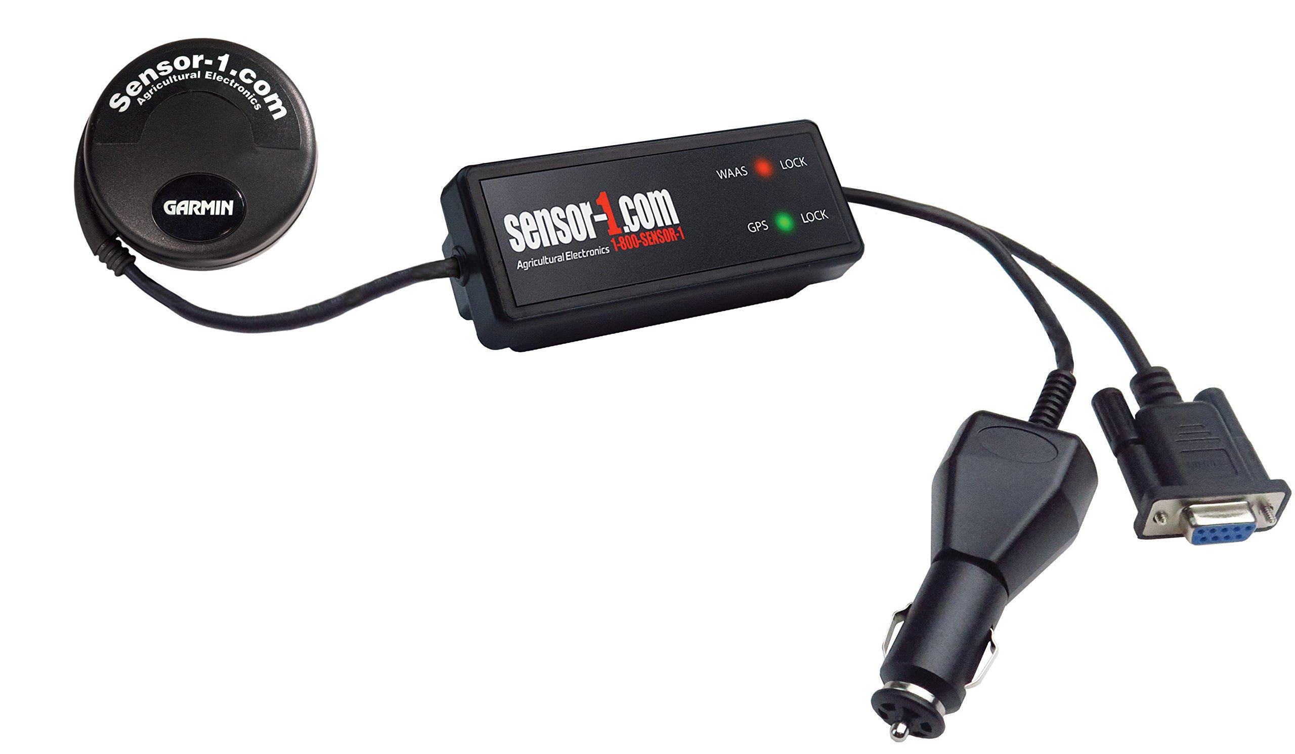 Sensor-1 DS-GVS-DB9F-5 Garmin GPS Mushroom with Garmin GVS Antenna