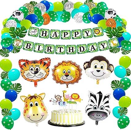 Amazon.com: Haimimall 95 piezas de decoración de fiesta ...