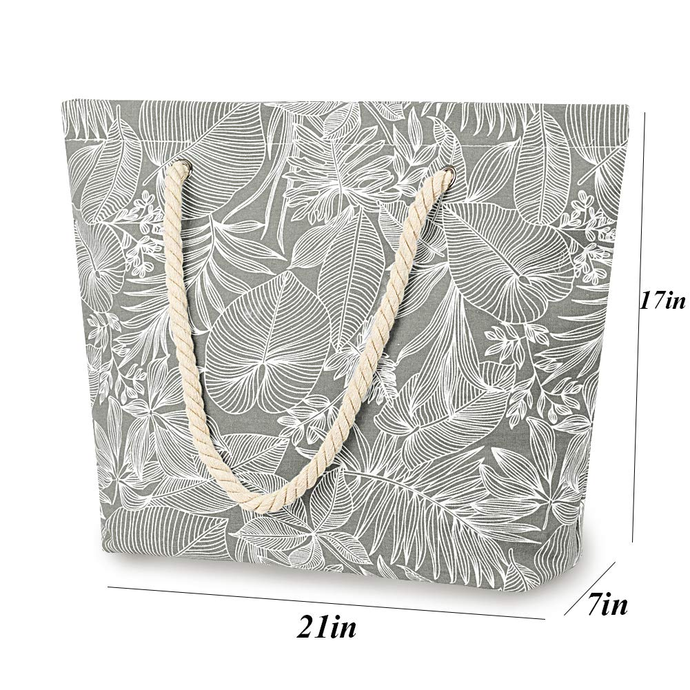casual shoes special section factory outlet Amazon.com: SONINLAW Women Beach Bag Travel Bohemian ...