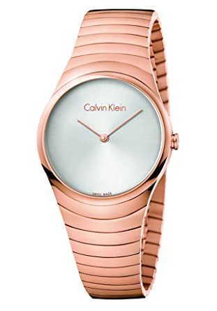 58ced682c Calvin Klein Women's Silver Dial Metal Band Watch - K8A236-46 ...