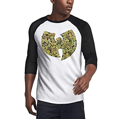 f7a48808b787 Mens WU-Tang-Clan-Pot-Leaf-Logo- Casual Shirts Basic. Roll over image to ...