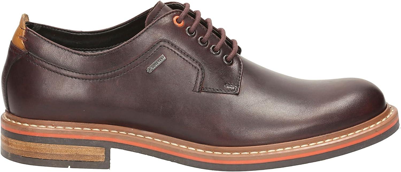 Clarks Hombres de Gore-Tex con Cordones Derby Zapatos Darby Walk GTX marrón Piel
