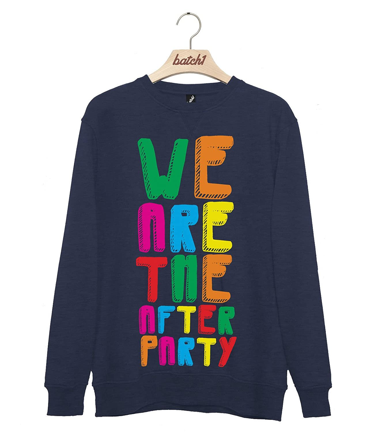 Batch1 We are The After Party Summer Music Festival Mens Gig Sweatshirt Jumper