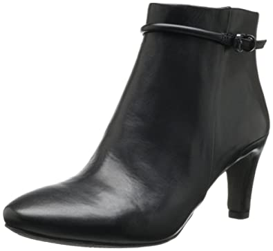 ECCO Women's Nephi 70 MM Ankle Boot,Black,41 EU/10-10.5