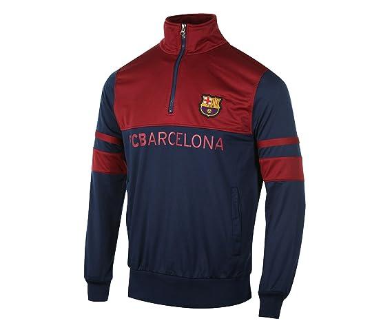Chándal FC Barcelona azul/rojo Junior, azul, 10 años: Amazon.es ...