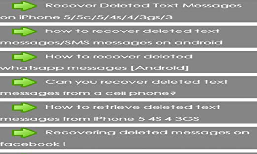 Amazon com: restore deleted messages: Appstore for Android