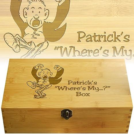Libro de Recetas personas Dresser organizador caja personalizada con tu nombre