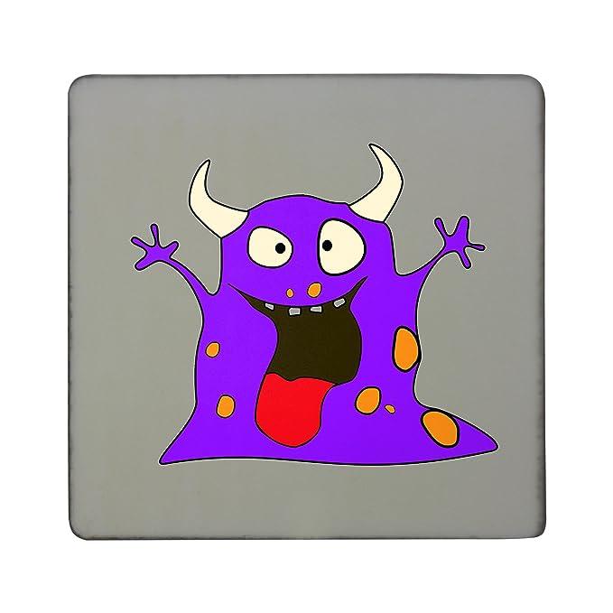 PickYourImage Monster 01 imán Cuadrado para Nevera, Color Morado ...