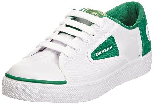 Dunlop Green Flash White/Green Canvas (37 Euro)