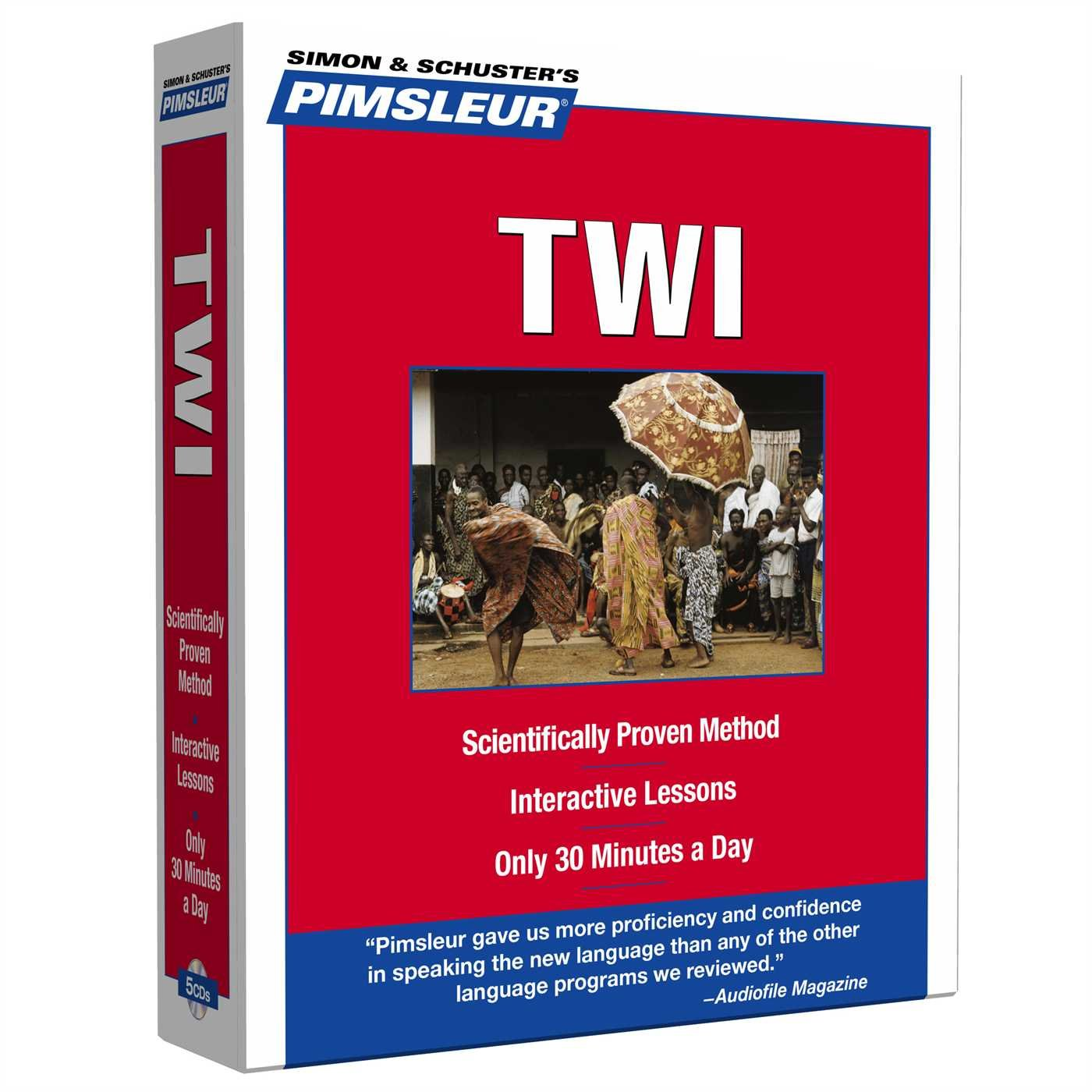 Twi (Pimsleur Language Program): Amazon co uk: Pimsleur