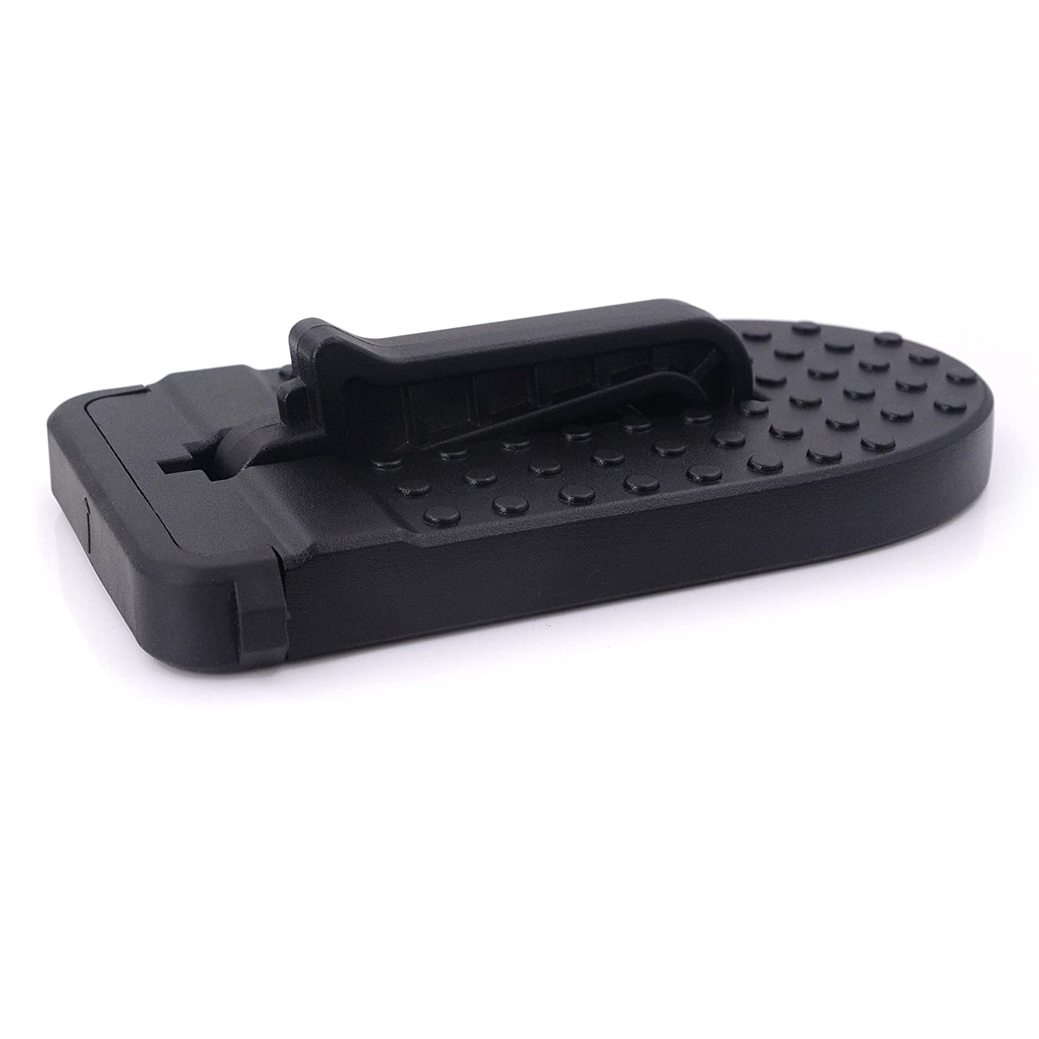 Support to 550lb iSaddle Car Doorstep Vehicle Rooftop Ladder Car U-Shaped Door Latch Foot Pegs for Rooftop Roof-Rack All Vehicles Must Have