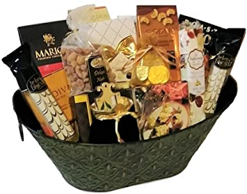 Image Unavailable  sc 1 st  Amazon.com & Amazon.com : A Spiritual Gift for the Jewish Home Gift Basket with ...