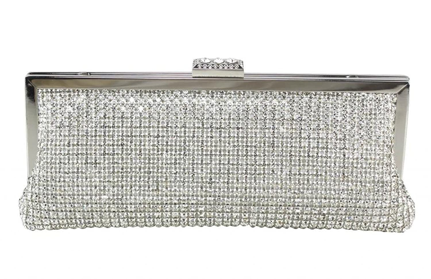 Colory Luxury Sequined Diamond Crystal Dance Party Prom Handbag Clutch