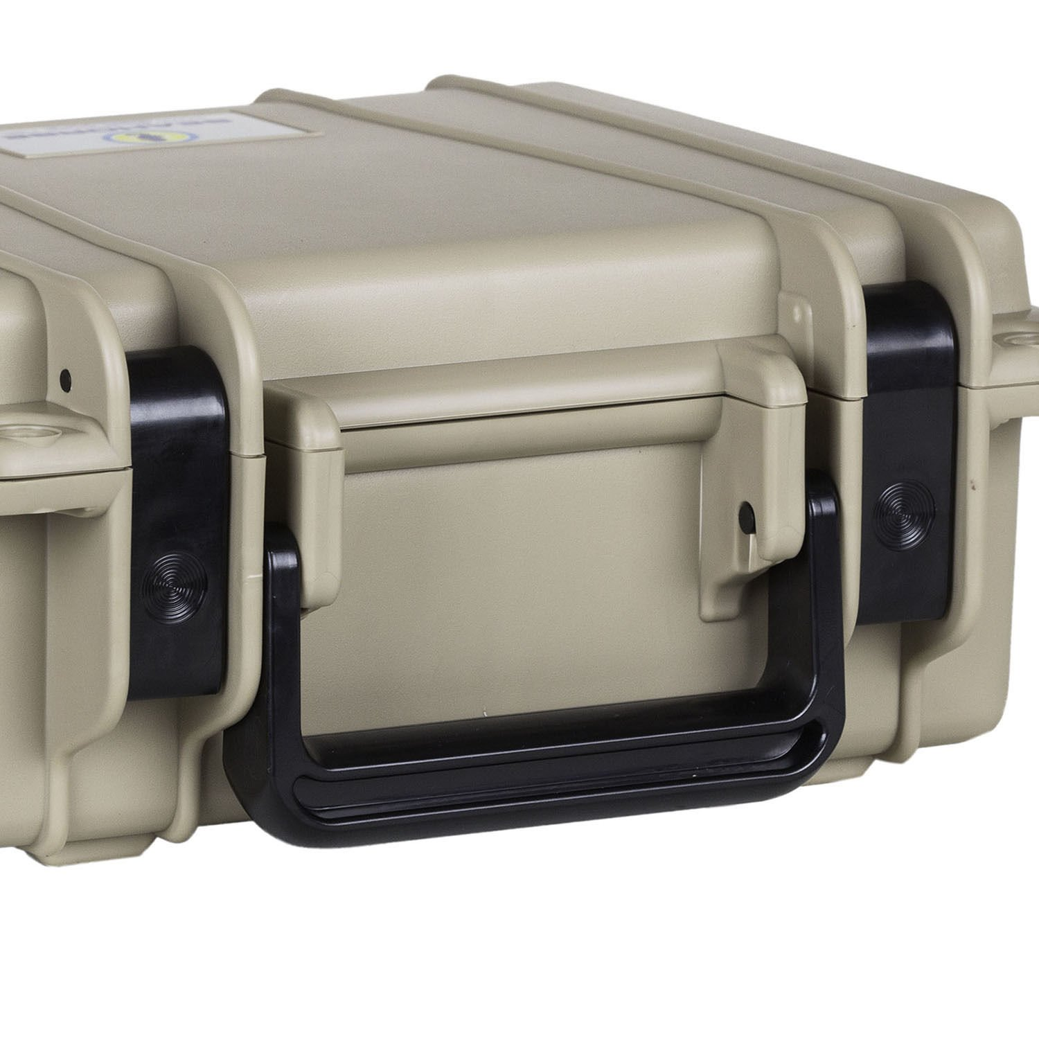 MRT SUPPLY Watertight Protective Equipment Case Without Foam, Desert Tan with Ebook