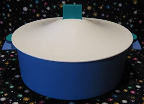 Amazon.com: clásico Tupperware microsteamer Jr Azul/Verde ...