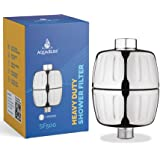 AquaBliss HD HEAVY DUTY High Output Shower Filter – Latest Superior Advanced 30x Filter Media - Universal Multi-Stage Shower